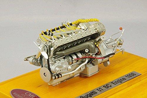 1/18 ブガッティ57 SC エンジン ショーケース付 M-112