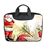 "LiFei Business Christmas Tree Ornament Star Custom Bag Waterproof Laptop Bag advanced design suitable for all computers 11"" 13"" 15"" Computer Case(Twin sides)"