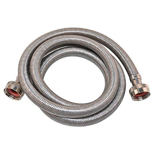 Eastman 48640 stainless steel washing machine hose, 10'