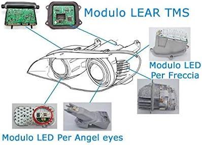 Lampada Modulo Led 63117271901 Per Freccia Indicatore Sinistra Ricambi Riparazione Faro Headlight Originale Serie 5