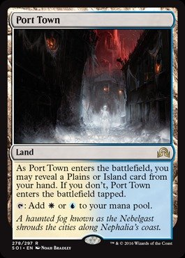 30 Year Old Port (Magic: the Gathering - Port Town (278/297) - Shadows Over Innistrad)