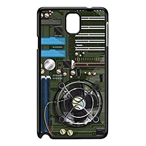 Computer motherboard Black Hard Plastic Case for Galaxy Note 3 by Nick Greenaway + FREE Crystal Clear Screen Protector