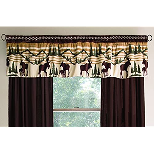 Fabulous Rustic Cabin Decor Window Treatments: Amazon.com PN86