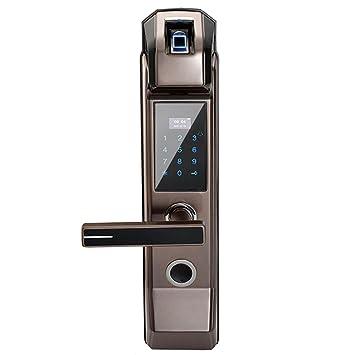 WEN Cerradura electrónica de la Puerta de la Huella Digital de la Seguridad Cerradura sin Llave