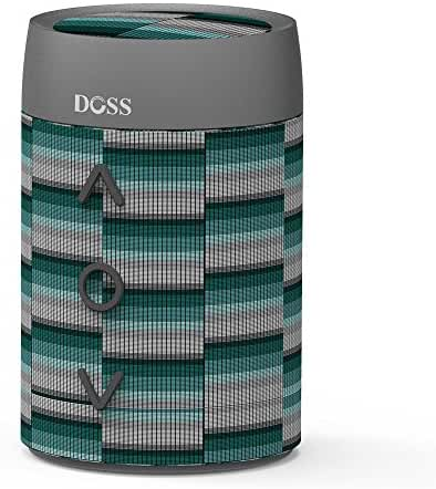 Bluetooth Speaker,DOSS SoundBox Mini Ultra Small Portable Fabric Wireless Bluetooth 4.0 Speakers with 5W HD Sound,Rotation Control,8H Playtime,Handsfree for iPhone, iPad,Samsung,Tablet,Echo Dot-Rhythm