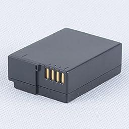 Battery (2-Pack) and Charger for Panasonic Lumix DMC-G7, DMC-GX8 Digital Camera