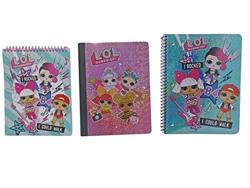 LOL Surprise Spiral Notebook LOL Surprise Composition Book LOL Stationary Set by L.O.L. Surprise! (Image #1)