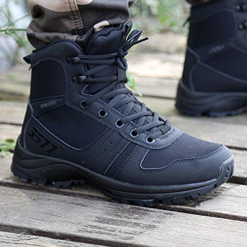 HCBYJ Schuhe Desert Tactical Stiefel Ultra Light Combat Stiefel Training schuhe Men's Security schuhe Land war Desert Training