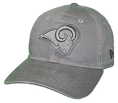 New Era Los Angeles Rams NFL 9Twenty Classic Tonal Adjustable Graphite Hat from New Era