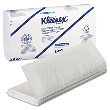 KIMBERLY-CLARK PROFESSIONAL* KLEENEX SCOTTFOLD Paper Towels, 9 2/5 x 12