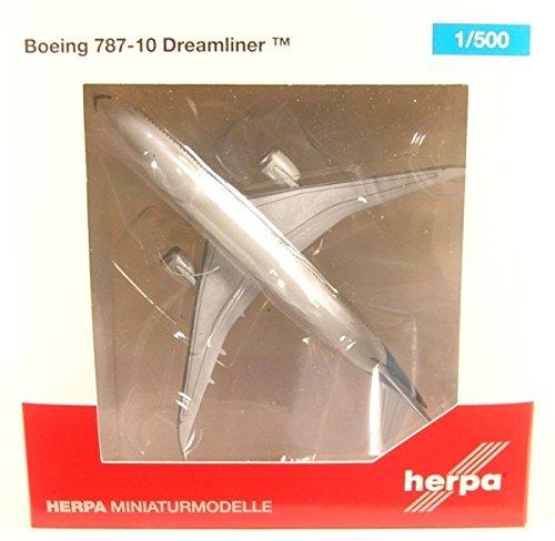 herpa wings 1/500 787-10 ボーイングハウスカラー N528ZC
