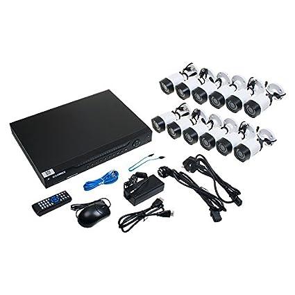 FLIR Lorex lhv22162tc12p CCTV Kit: 2TB, 16 CH DVR + 12 HD Cámaras