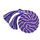 "GraduationMall Graduation Honor Cord 68"" Purple White"