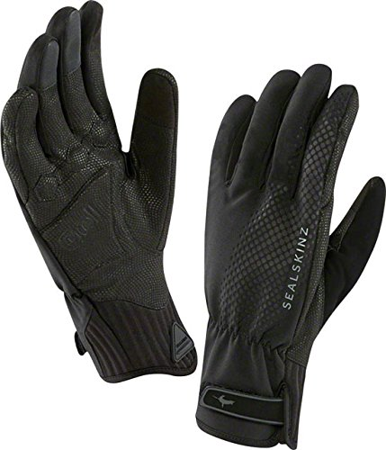 Gloves Bell Cycling Gel Pro (SEALSKINZ All W Cycle Gloves, X-Large, Black)