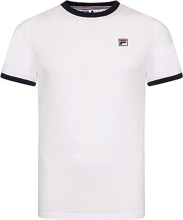 Fila Blanco Camiseta Essential Vintage,A estrenar y genuina. Somos un vendedor autorizado de Fila.,1