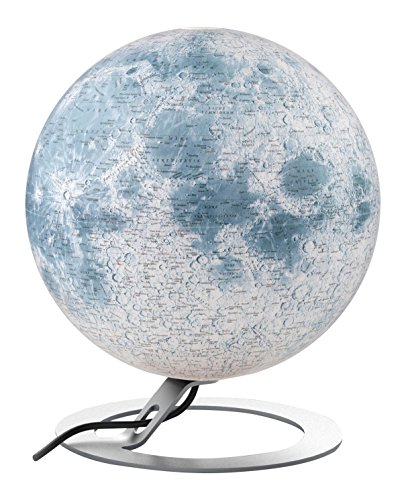 National Geographic 8007239977211 30 cm The Moon Illuminated Globe