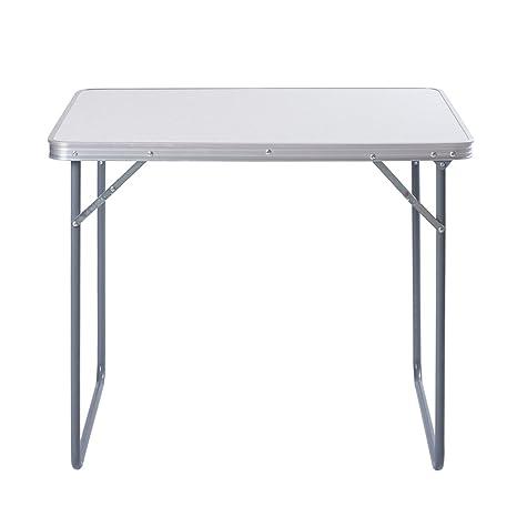 Aleación de aluminio QR para acampada escritorio mesa plegable 60 ...