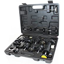 18pc Radiator Pump Pressure cooling Leak Tester Checker Kit Cap Pump Thermometer