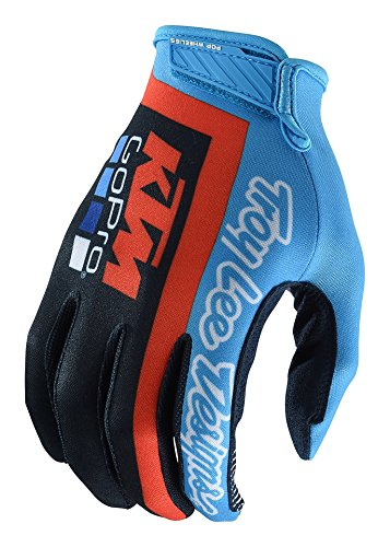 Lee Jersey Gloves - 2018 Troy Lee Designs Air Team KTM Gloves-2XL