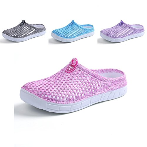 Shoes Shoes 36 Outdoor Slip Shoes Beach Men Unisex Pink Clogs Water Meedot Hollow Women 45 Walking Indoor Shoes On Slippers Leisure vqTxUwAI