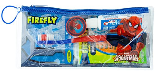 Firefly Toothbrush & Toothpaste Travel Kit - Spiderman - 1