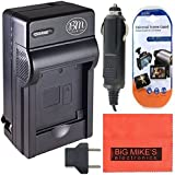 DMW-BLC12 Battery Charger for Panasonic Lumix DMC-G7, DMC-G6K, DMC-G6KK, MC-GH2, DMC-G5, DMC-FZ200, DMC-FZ1000 Digital Camera + More!!