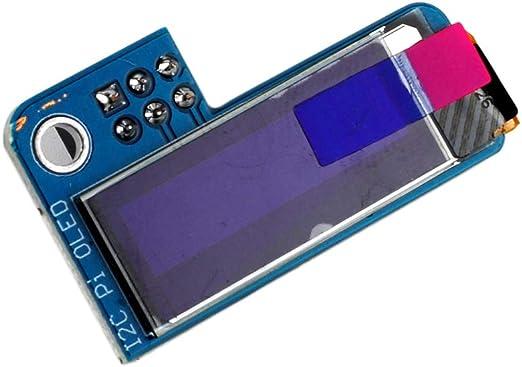 Pi 2 Pi 3 and Pi Zero PiOLED I2C 0.91inch OLED 128x32 SSD1306 Blue for RPI Raspberry Pi 1 B