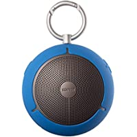 Edifier MP100 Portable Bluetooth Speaker - Wireless Splash/Dust Proof Boombox with microSD Card for Hiking Camping and Outdoors Activities - Blue