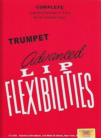 CHARLES COLIN MUSIC COLIN CHARLES - ADVANCED LIP FLEXIBILITIES FOR TRUMPET (3 VOL.) Theorie und Pedagogik Trompete