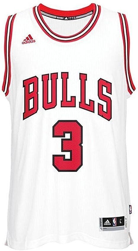 adidas Cc2543 Camiseta Chicago Bulls de Baloncesto, Hombre: Amazon.es: Ropa y accesorios