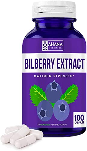 Ahana Nutrition Bilberry Extract