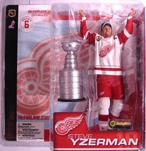 Mcfarlane NHL Series 6 Steve Yzerman Figure w/ Stanley Cup