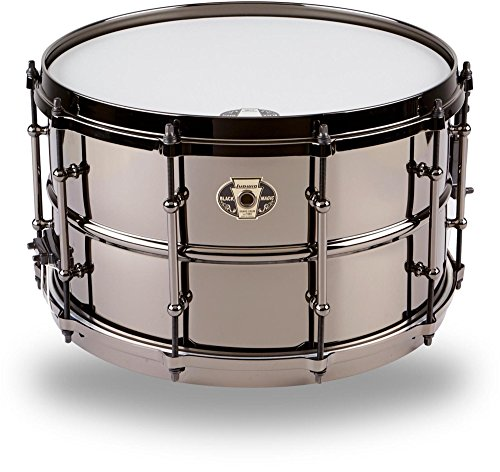 Black Snare Ludwig Beauty - Ludwig Black Magic Snare Drum - 8