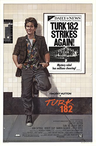 Turk 182 1985 Authentic 27  X 41  Original Movie Poster Rolled Robert Culp Drama U S  One Sheet