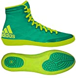 adidas Adizero Varner Wrestling Shoes - Flash Lime/Solar Yellow - 4.5