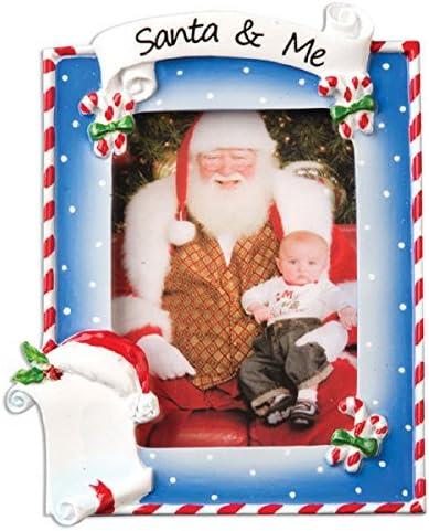 Our Visit With Santa 2012 $12.95  Keepsake Photo ornament