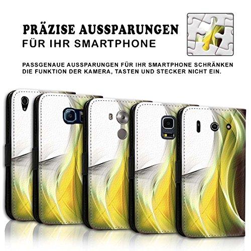Wallet Book Style Flip Handy Tasche Case Schutz Hülle Schale Motiv Etui für Apple iPhone 6 Plus / 6S Plus - Design Flip MVD445