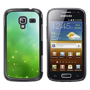 TopCaseStore / la caja del caucho duro de la cubierta de protección de la piel - Nature Beautiful Forrest Green 52 - Samsung Galaxy Ace 2 I8160 Ace II X S7560M