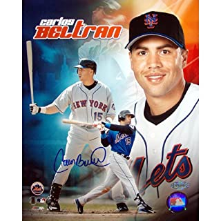 Steiner Sports MLB Carlos Beltran New York Mets Collage Autographed 8-by-10-Inch Photograph (B003VXZ10M) | Amazon Products