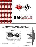 1969 Corvette Owner's Manual, Operation & Maintenance Instructions
