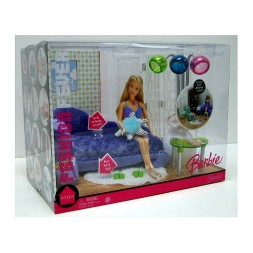 Barbie Fashion Fever Velvet Crush Couch by Barbie