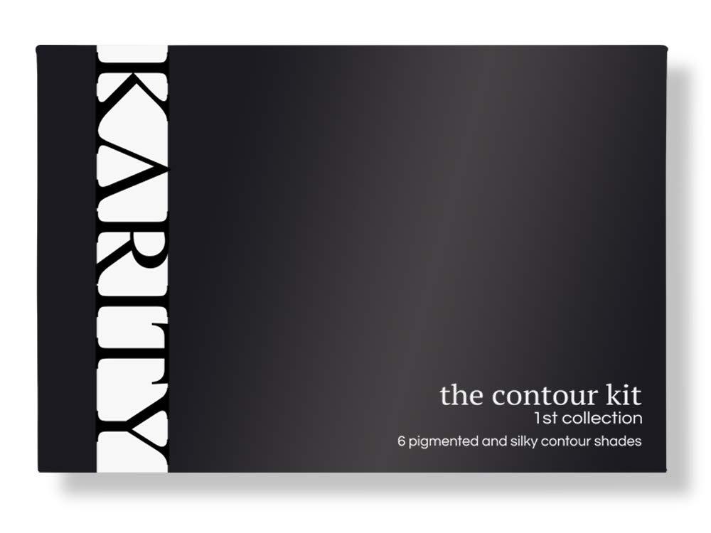 Contour Kit - 6 Pigmented Professional Contour Kit Makeup Palette Set Pro Palette High-end Formula (Highlight & Contour) - Step-by-Step Instructions Included by Karity (Image #3)