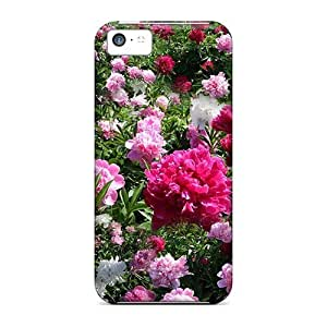 High Quality LastMemory Peony Garden Skin Case Cover Specially Designed For Iphone - 5c