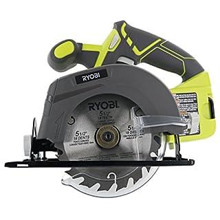 Ryobi circular saw 18v do it yourselfore ryobi one p505 18v lithium ion cordless 5 12 greentooth Image collections