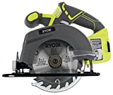 Ryobi One P505 18V Lithium Ion Cordless 5 1/2″ 4,700 RPM Circular Saw (Battery Not Included, Power Tool Only), Green