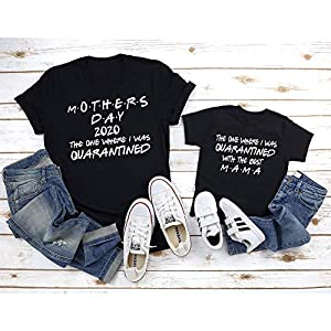 Mothers Day Quarantine Shirt, 2020 Matching Mother's Day Shirts, Mothers Day Gifts