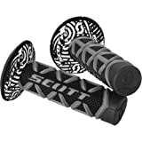 Scott Diamond Off-Road/Dirt Bike Motorcycle Hand Grips - Grey/Black / One Size