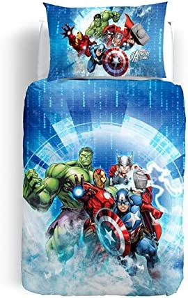 Copripiumino Avengers.Copripiumino Avenger Singolo Caleffi Escluso Sotto Lenzuolo