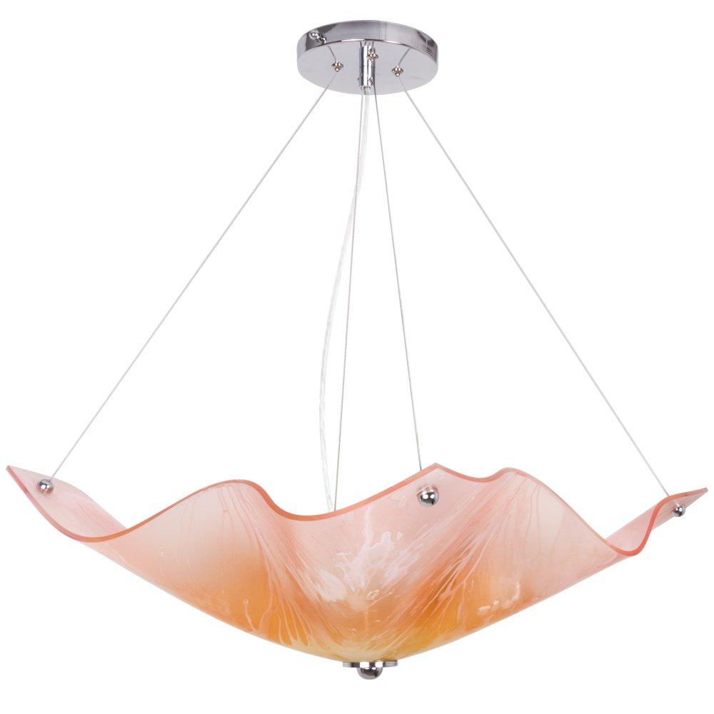 Van Teal Peony Pendant Lighting Fixture Soft Pink