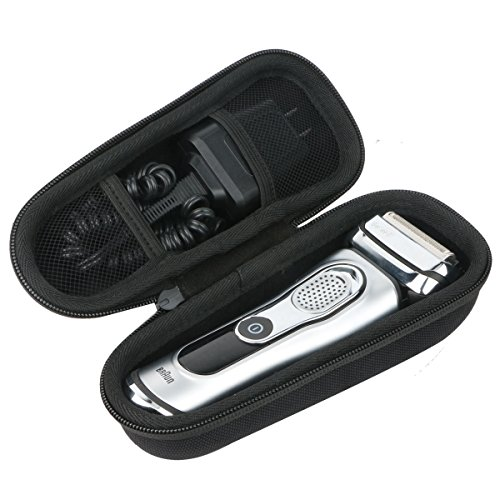 For Braun Series 9-9095cc Wet and Dry Foil Shaver Hard Case by Khanka